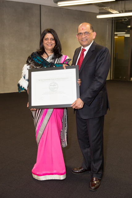 Ranjna Patel decorates Hall of Fame