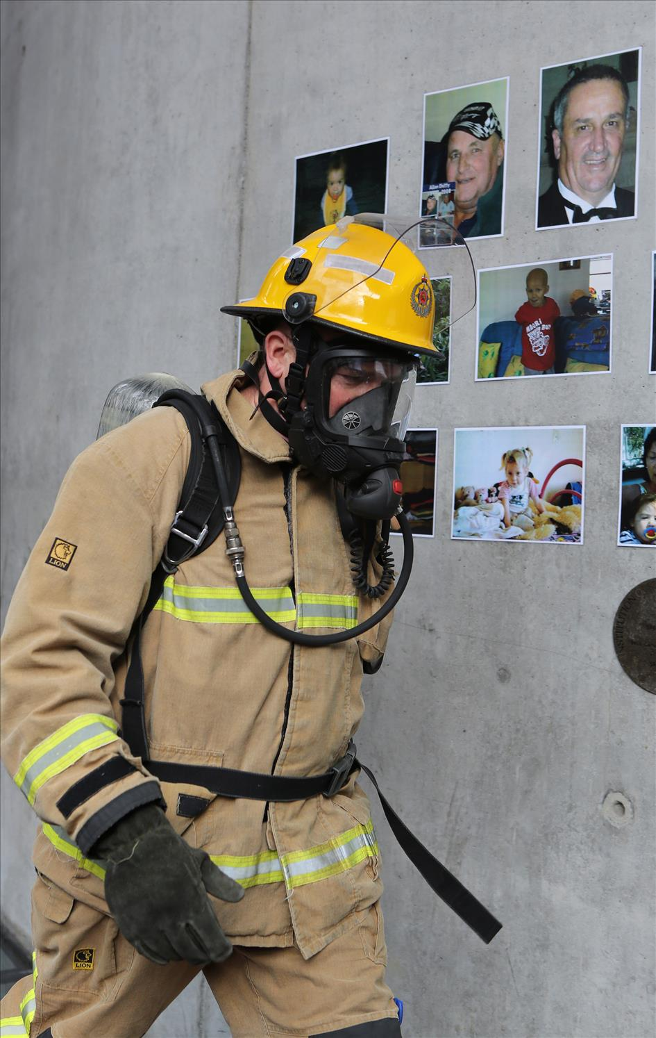 Sky Tower challenges firefighters