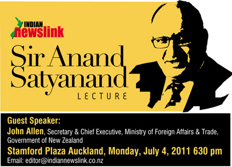 A Tribute to Sir Anand Satyanand