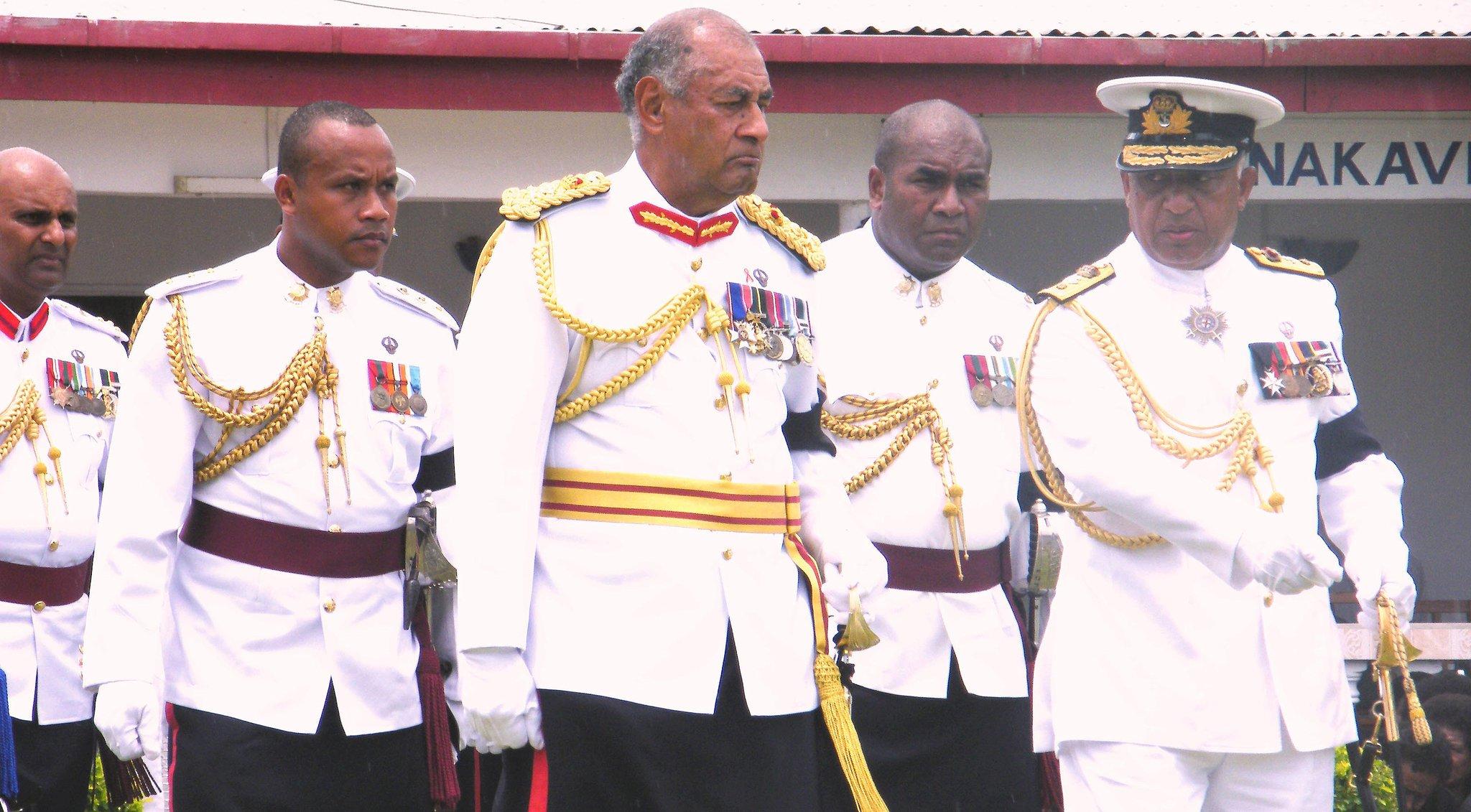 Fiji farewells former President