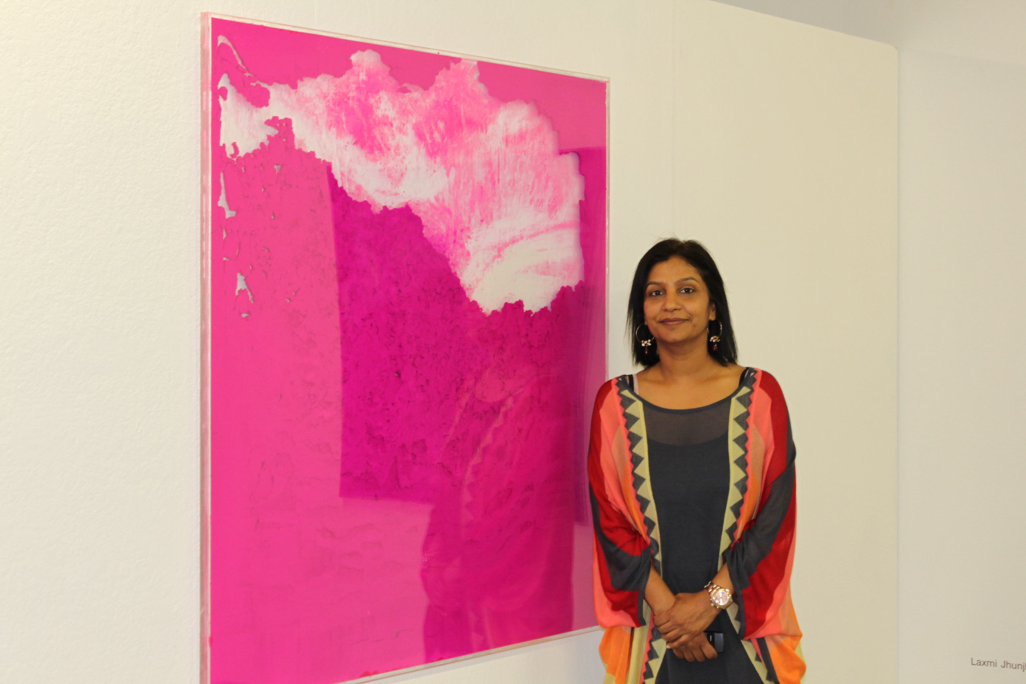 First solo showcase for Indian Painter