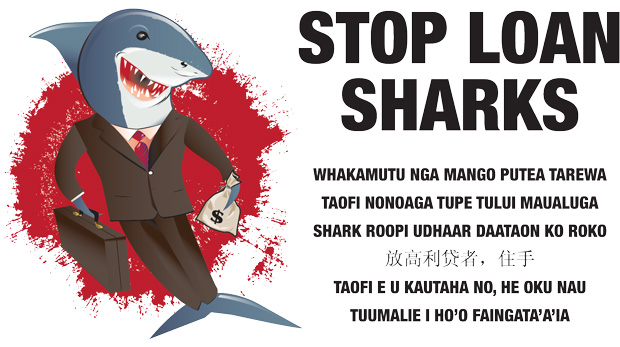 Jaws get tighter for loan sharks