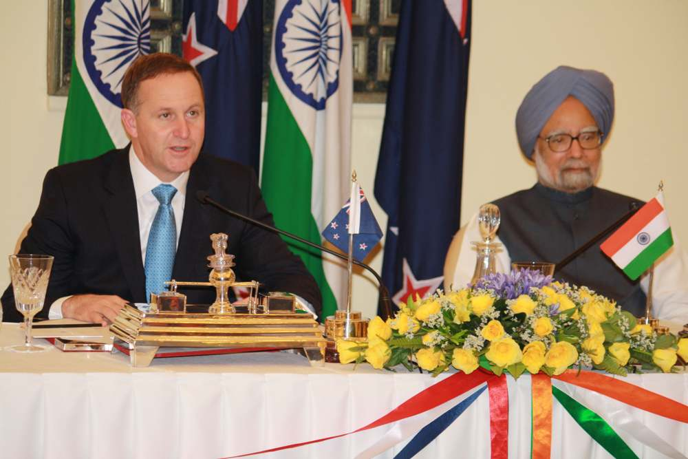 New Zealand announces new initiatives for India